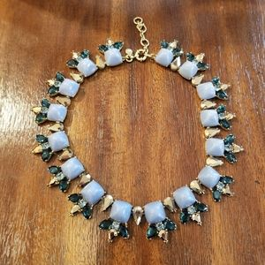 J. Crew Blue Statement Necklace